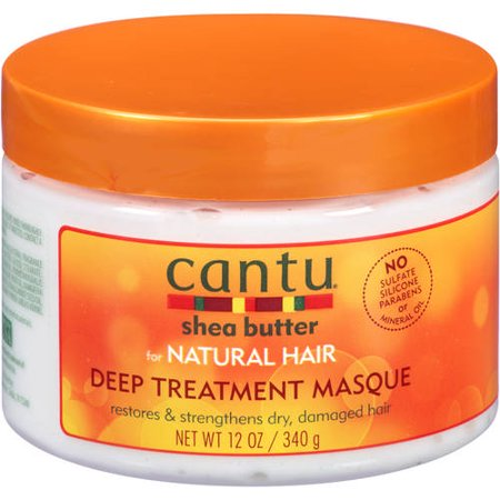 Cantu Shea Butter Natural Deep Treatment Masque (12oz) - Elegance24seven Hair