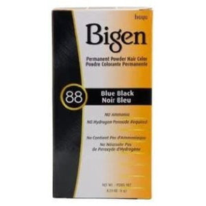 BIGEN Permanent Powder Hair Color #88 Blue Black - Elegance24seven Hair