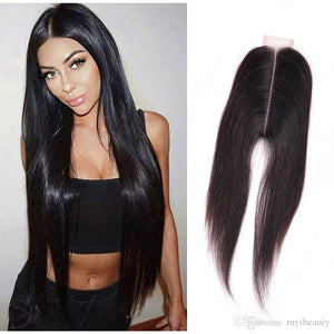 6*2  Lace Closure- Straight - Elegance24seven Hair