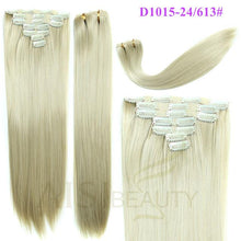 Load image into Gallery viewer, 7 pcs Clip in Blend Hair - Elegance24seven Hair