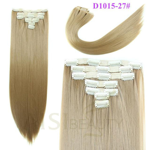 7 pcs Clip in Hair - elegance24sevendotcom