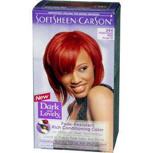 Dark&Lovely Hair Color Kit #394 Vivacious Red - Elegance24seven Hair