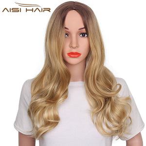 30 Inch Synthetic Long Natural Wave Hair Wig WL1001 - Elegance24seven Hair