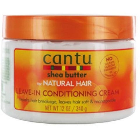 Cantu Shea Butter Natural Hair Leave In Condi. Cream(12oz) - elegance24sevendotcom