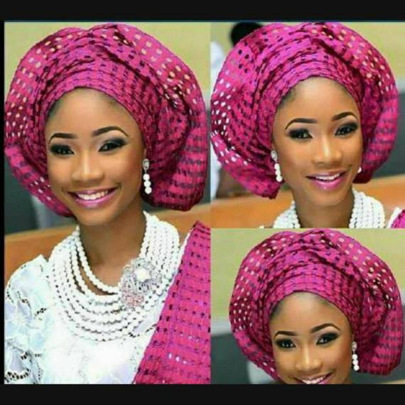 Aso-Oke Onjawu (with holes) - Fashion - Elegance24seven Hair