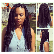 "Load image into Gallery viewer, Havana Mambo Twist Crochet 14"" - Elegance24seven Hair"