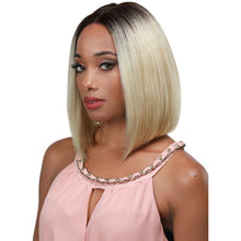"Load image into Gallery viewer, GETTY - 12"" Human Hair -  LACE WIG - Hand Tied Center Part - Elegance24seven Hair"