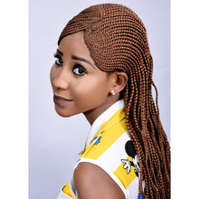 Load image into Gallery viewer, Half Part All Back Ghana - Elegance24seven Hair