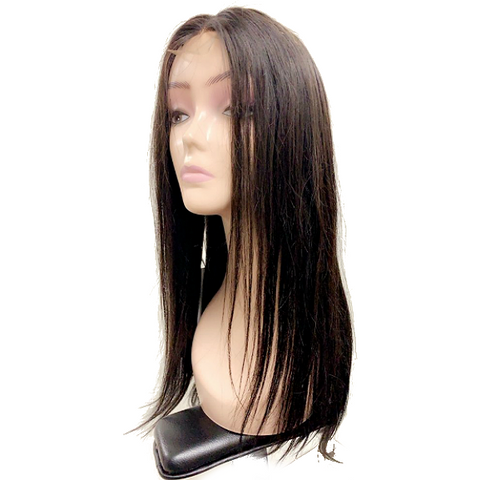 Straight Human Hair 2x4 Lace Front Wig 150% Density Miss Rola - Elegance24seven Hair