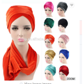 Luxury Hijab Turban Head Wrap Extra Long - Elegance24seven Hair