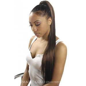 "28"" Long Straight Ponytail MG-2822-L - Elegance24seven Hair"