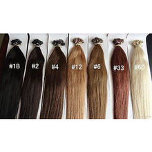 "Load image into Gallery viewer, 10A Grade (Straight 100G 24"") Nano Tips Human Hair - Elegance24seven Hair"
