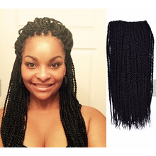 "Load image into Gallery viewer, Jumbo Senegalese Twist 24"" - Elegance24seven Hair"