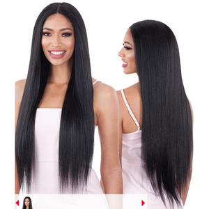 "LIGHT YAKY STRAIGHT 30"" ORGANIQUE LACEFRONT - Elegance24seven Hair"