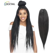 "Load image into Gallery viewer, 100% Kanekalon Fiber OMBRÉ 28"" Pre-Stretched Braiding Hair - Elegance24seven Hair"