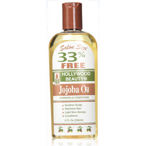 Hollywood Beauty Jojoba Oil For Hair or Body, 8 Oz - Elegance24seven Hair