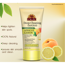 Load image into Gallery viewer, Okay African Facial Scrub-Apricot Lemon(6oz) - Elegance24seven Hair