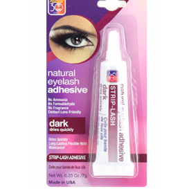 Salon Pro Strip Eyelash Adhesive_Dark (0.25oz) - Elegance24seven Hair
