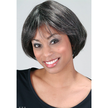 Load image into Gallery viewer, Jinny Salt and Pepper HH Wig - Elegance24seven Hair