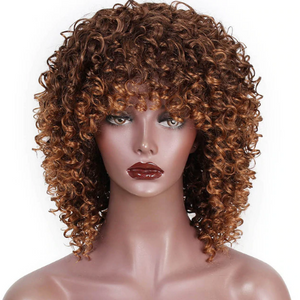 Long Kinky Curly Wigs WS707 - Elegance24seven Hair