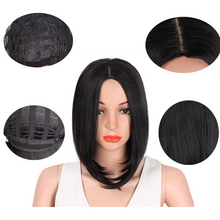 "Load image into Gallery viewer, 14"" SILKY STRAIGHT WIG WS101 - Elegance24seven Hair"