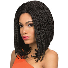 "Load image into Gallery viewer, Lace Front Braid Bob 12"" - Elegance24seven Hair"