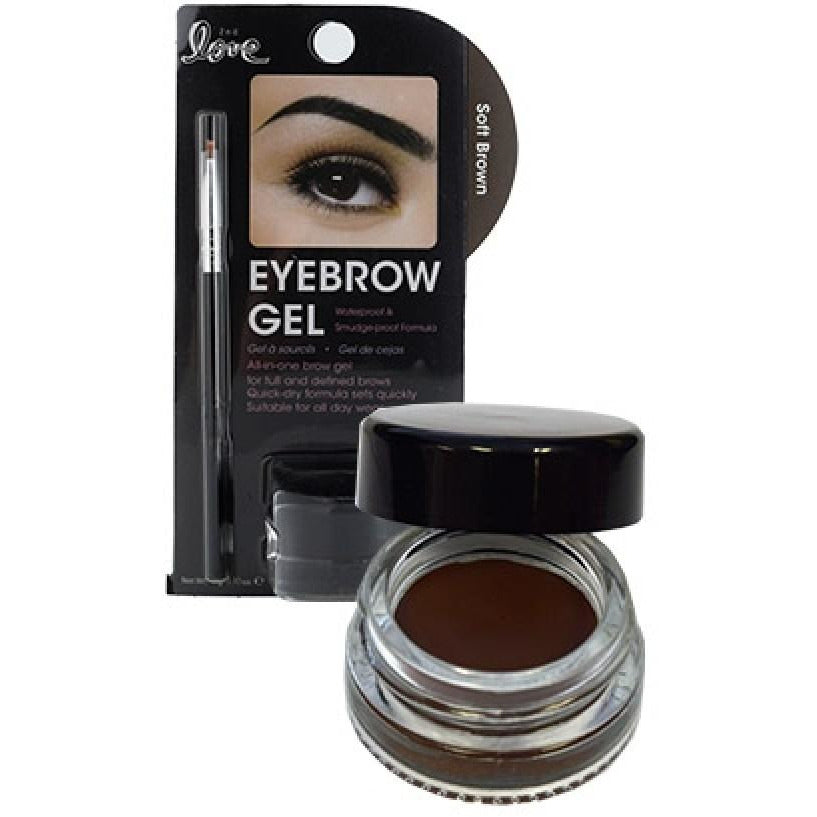 Beauty Treats2ndLoveEyebrowGelw/Brush-Soft Brown - elegance24sevendotcom