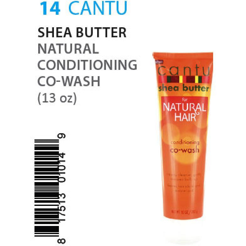 Cantu Shea Butter Natural Conditioning Co-Wash (10oz) #14 - Elegance24seven Hair