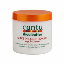 Load image into Gallery viewer, Cantu Shea Butter Leave in ConditioningRepair Cream(16oz) - Elegance24seven Hair