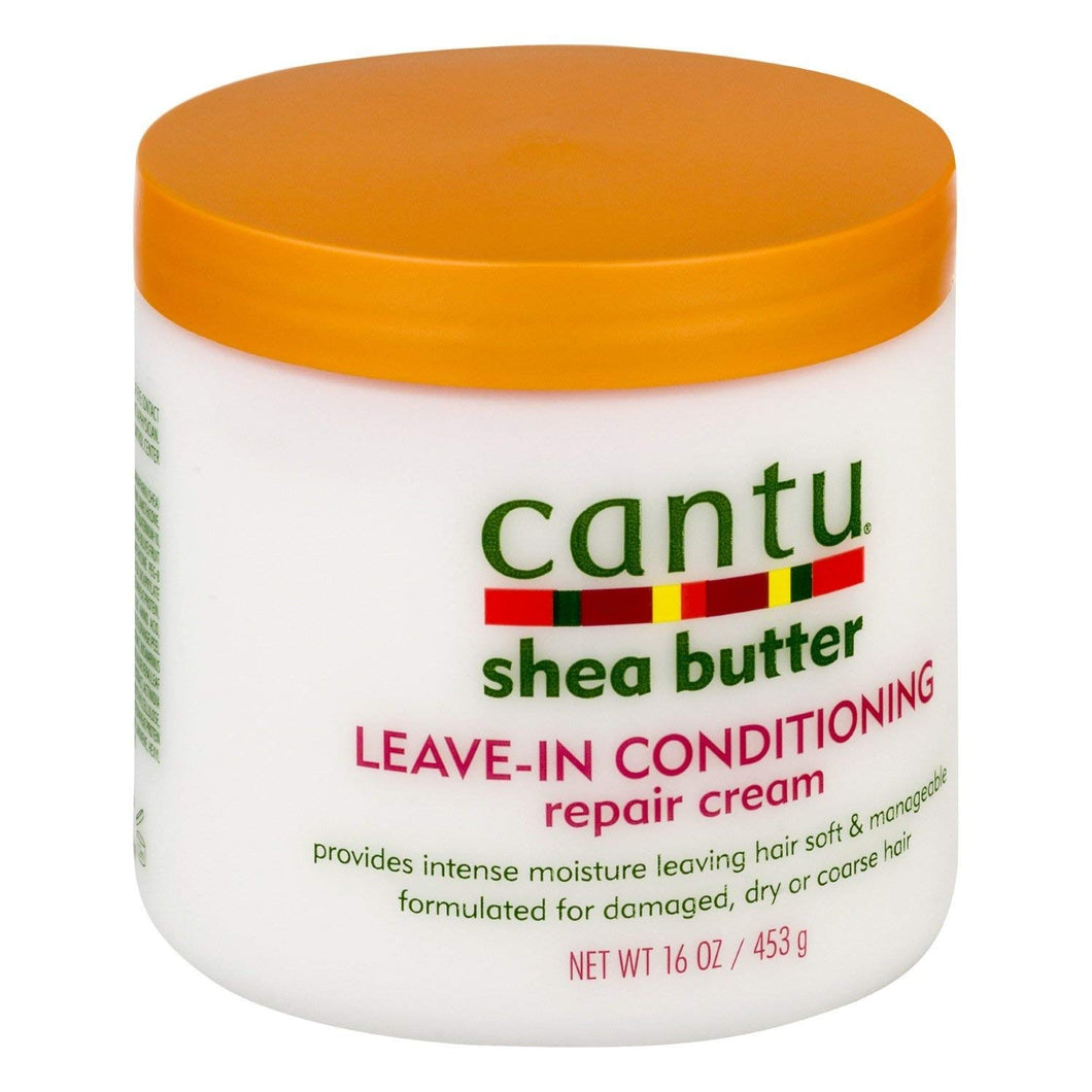 Cantu Shea Butter Leave in ConditioningRepair Cream(16oz) - Elegance24seven Hair