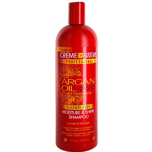 Creme of Nature Argan Oil Moisture & Shine Shampoo(20oz) - Elegance24seven Hair