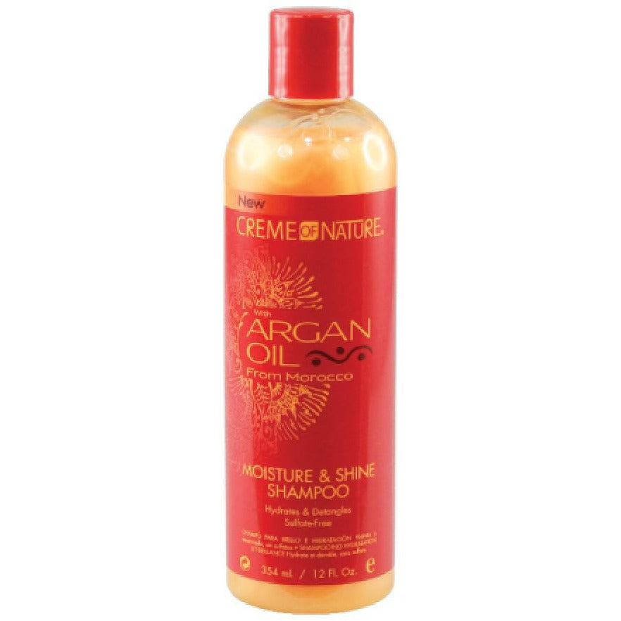 Creme of Nature Argan Oil Moisture & Shine Shampoo(12oz) - Elegance24seven Hair