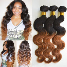 Load image into Gallery viewer, Brazilian Natural Wave Weft With Closure - Elegance24seven Hair