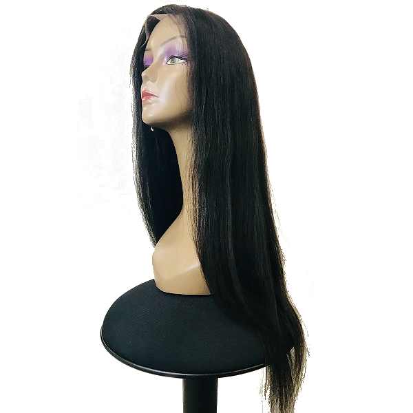 Lace Front Wig 250% Density (Natural Color) Straight 22