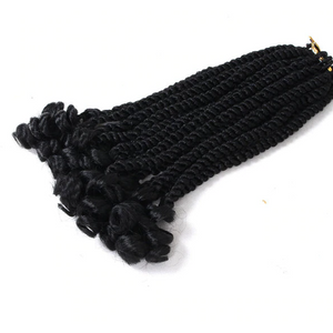 Curly Havana Twist Crochet Braiding Hair Extensions - Elegance24seven Hair