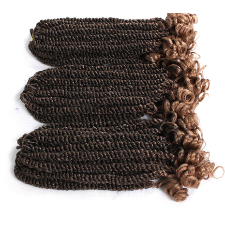 Curly Havana Twist Crochet Braiding Hair Extensions