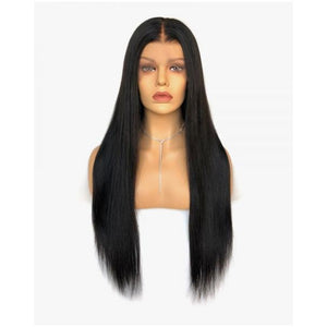 "13x4 Lace Front Human Hair 150% Density Wig 20"" Straight - Elegance24seven Hair"