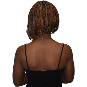 "Lace Front Braid Bob 12"" - Elegance24seven Hair"