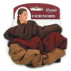 Annie Hair Scrunchies Assorted (3pc) #3374 - Elegance24seven Hair