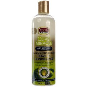 Olive Miracle Leave In Conditioner (12oz) African Pride