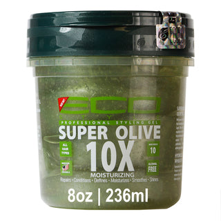 Eco Styling Gel [Super Olive 10X] (8oz)