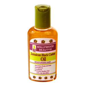 Hollywood Beauty Jamaican Black Castor Oil, 2 Oz