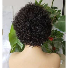 Load image into Gallery viewer, Short Curly Lace Front Human Hair Wigs  ONLINE ONLY - Elegance24seven Hair