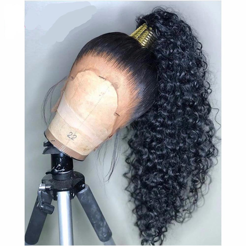 HD Transparent Invisible Lace Curly Human Hair Wigs ONLINE ONLY - Elegance24seven Hair