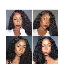 Load image into Gallery viewer, HD Transparent Invisible Lace Curly Human Hair Wigs ONLINE ONLY - Elegance24seven Hair