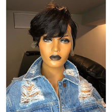 Load image into Gallery viewer, Pixie Cut Short Bob Lace Front Human Hair Wig ONLINE ONLY - Elegance24seven Hair