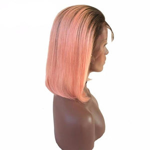 Ombre Bob 13X4 Lace Front Human Hair Wigs Various Colours - ONLINE ONLY - Elegance24seven Hair