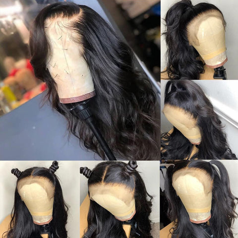 Body Wave Lace front Brazilian Human Hair Wigs ONLINE ONLY - Elegance24seven Hair