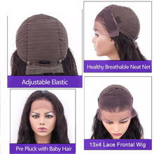 Load image into Gallery viewer, Body Wave Lace front Brazilian Human Hair Wigs ONLINE ONLY - Elegance24seven Hair