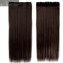 Load image into Gallery viewer, One Piece Clip in Hair Extensions 46-76 CM ONLINE ONLY - Elegance24seven Hair